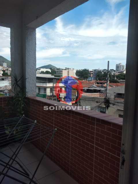 Varanda - Apartamento 2 quartos à venda Lins de Vasconcelos, Rio de Janeiro - R$ 300.000 - TJAP21419 - 15