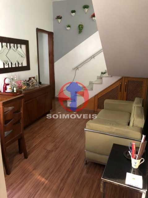 SALA - Cobertura 3 quartos à venda Rio Comprido, Rio de Janeiro - R$ 400.000 - TJCO30051 - 5