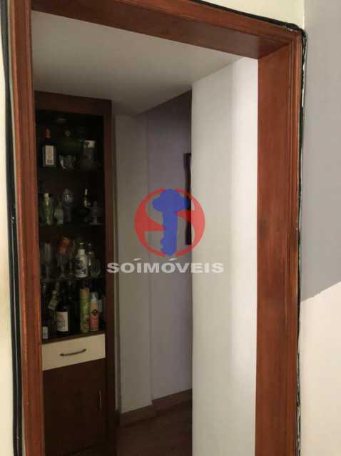 ENTRADA - Cobertura 3 quartos à venda Rio Comprido, Rio de Janeiro - R$ 400.000 - TJCO30051 - 8