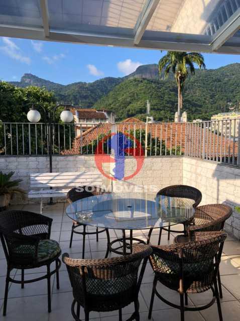 TERRAÇO - Cobertura 3 quartos à venda Rio Comprido, Rio de Janeiro - R$ 400.000 - TJCO30051 - 14