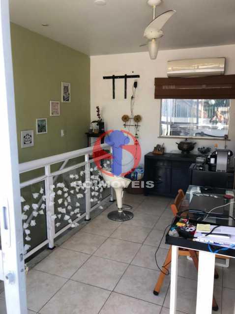 SALA 2 - Cobertura 3 quartos à venda Rio Comprido, Rio de Janeiro - R$ 400.000 - TJCO30051 - 17
