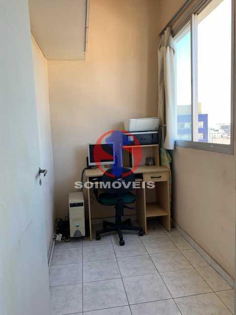 dep - Apartamento 2 quartos à venda Rio Comprido, Rio de Janeiro - R$ 320.000 - TJAP21420 - 24