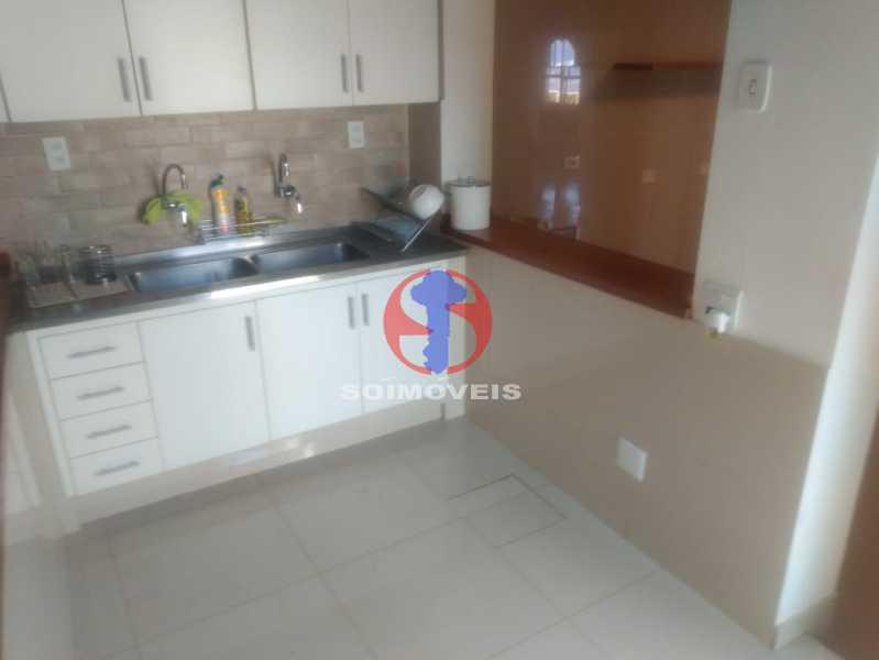 COZINHA. - Casa 3 quartos à venda Tijuca, Rio de Janeiro - R$ 1.400.000 - TJCA30076 - 4