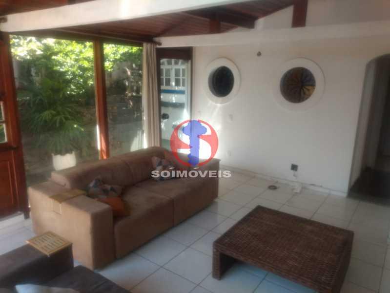 SALA TV. - Casa 3 quartos à venda Tijuca, Rio de Janeiro - R$ 1.400.000 - TJCA30076 - 9