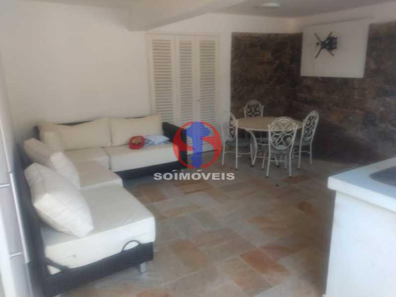 ESPAÇO GURMET - Casa 3 quartos à venda Tijuca, Rio de Janeiro - R$ 1.400.000 - TJCA30076 - 26
