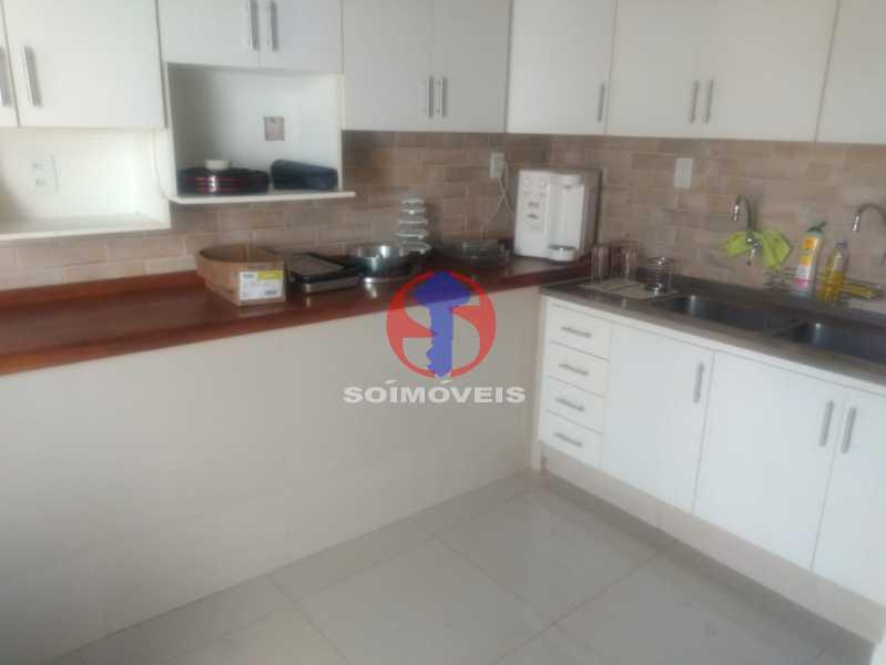 COZINHA 2. - Casa 3 quartos à venda Tijuca, Rio de Janeiro - R$ 1.400.000 - TJCA30076 - 5