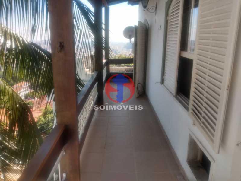 VARANDA. - Casa 3 quartos à venda Tijuca, Rio de Janeiro - R$ 1.400.000 - TJCA30076 - 16