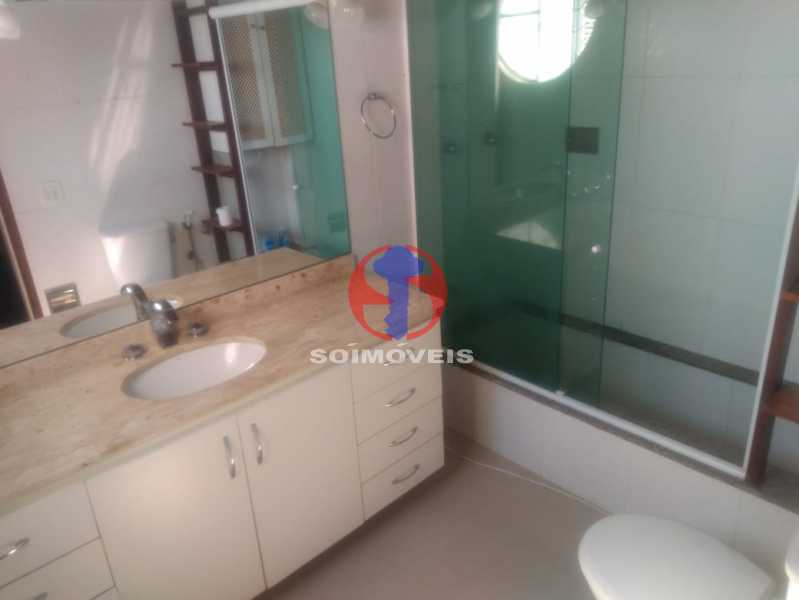 BANHEIRO SICIAL. - Casa 3 quartos à venda Tijuca, Rio de Janeiro - R$ 1.400.000 - TJCA30076 - 18