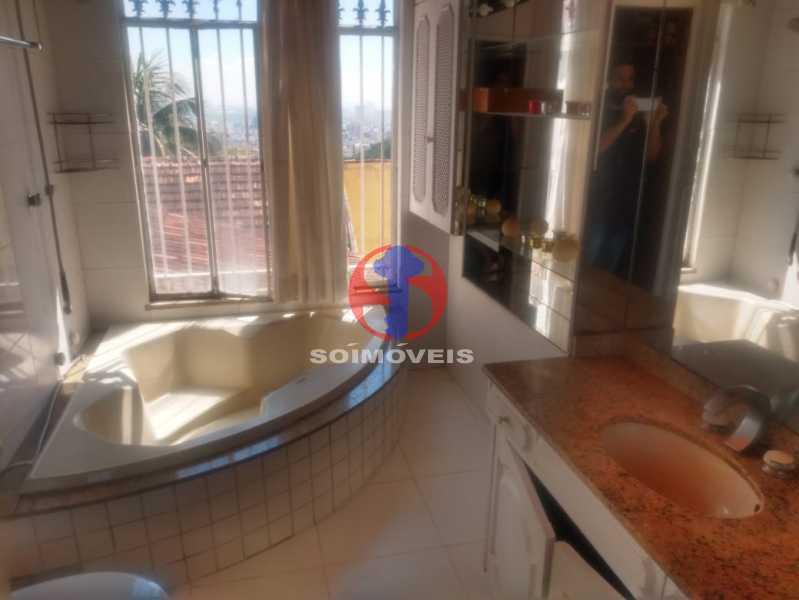 BANHEIRO SUÍTE. - Casa 3 quartos à venda Tijuca, Rio de Janeiro - R$ 1.400.000 - TJCA30076 - 15