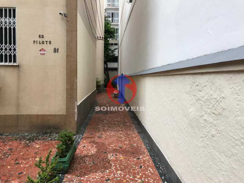 CORREDOR DE ENTRADA - Apartamento 2 quartos à venda Grajaú, Rio de Janeiro - R$ 325.000 - TJAP21427 - 4