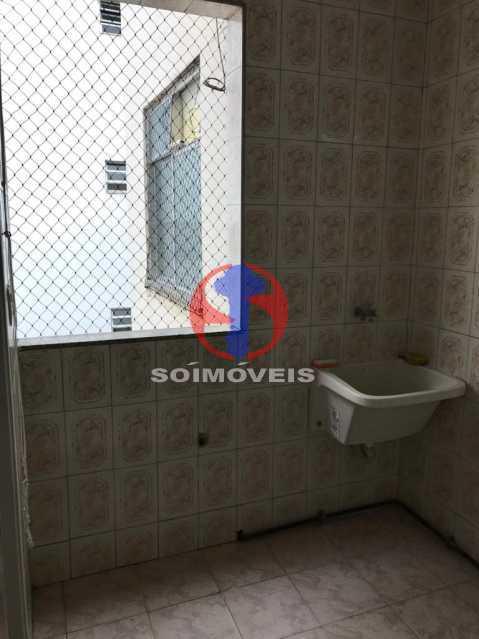 ÁREA/LAV. - Apartamento 2 quartos à venda Grajaú, Rio de Janeiro - R$ 325.000 - TJAP21427 - 24