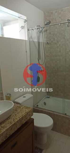 BANHEIRO - Cobertura 2 quartos à venda Tijuca, Rio de Janeiro - R$ 680.000 - TJCO20030 - 7