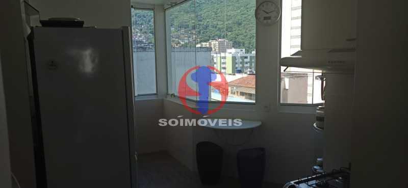 ÁREA DE SERVIÇO - Cobertura 2 quartos à venda Tijuca, Rio de Janeiro - R$ 680.000 - TJCO20030 - 12