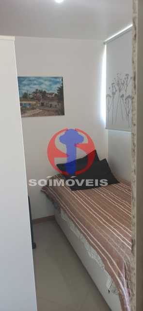 DEPENDÊNCIA - Cobertura 2 quartos à venda Tijuca, Rio de Janeiro - R$ 680.000 - TJCO20030 - 15
