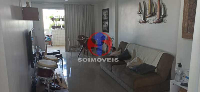 SALA - Cobertura 2 quartos à venda Tijuca, Rio de Janeiro - R$ 680.000 - TJCO20030 - 17