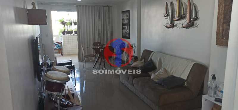 QUARTO - Cobertura 2 quartos à venda Tijuca, Rio de Janeiro - R$ 680.000 - TJCO20030 - 18