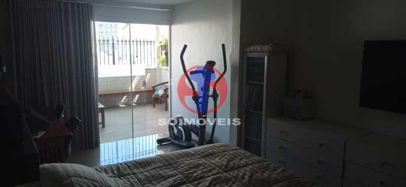 QUARTO - Cobertura 2 quartos à venda Tijuca, Rio de Janeiro - R$ 680.000 - TJCO20030 - 19