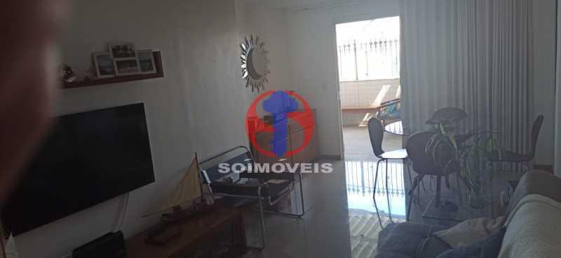 SALA - Cobertura 2 quartos à venda Tijuca, Rio de Janeiro - R$ 680.000 - TJCO20030 - 20