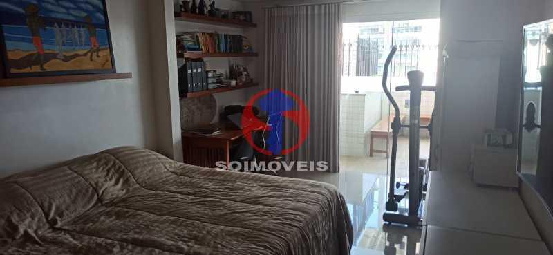 QUARTO - Cobertura 2 quartos à venda Tijuca, Rio de Janeiro - R$ 680.000 - TJCO20030 - 21