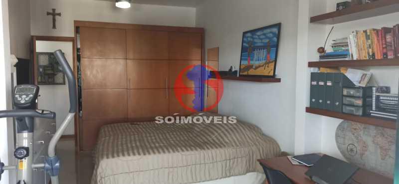QUARTO - Cobertura 2 quartos à venda Tijuca, Rio de Janeiro - R$ 680.000 - TJCO20030 - 22