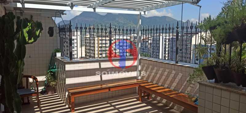 VARANDA - Cobertura 2 quartos à venda Tijuca, Rio de Janeiro - R$ 680.000 - TJCO20030 - 27