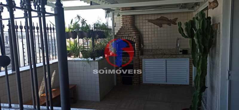 TERRAÇO - Cobertura 2 quartos à venda Tijuca, Rio de Janeiro - R$ 680.000 - TJCO20030 - 28
