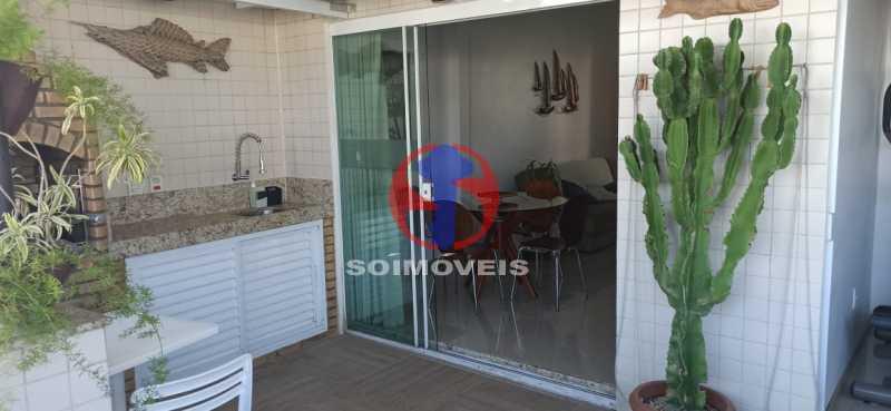 ENTRADA DA VARANDA - Cobertura 2 quartos à venda Tijuca, Rio de Janeiro - R$ 680.000 - TJCO20030 - 30