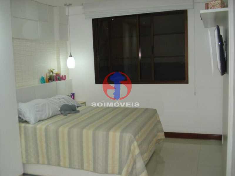 quarto - Apartamento 2 quartos à venda Maracanã, Rio de Janeiro - R$ 795.000 - TJAP21438 - 5