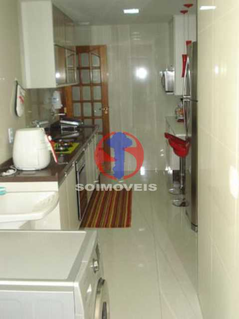 cozinha - Apartamento 2 quartos à venda Maracanã, Rio de Janeiro - R$ 795.000 - TJAP21438 - 4