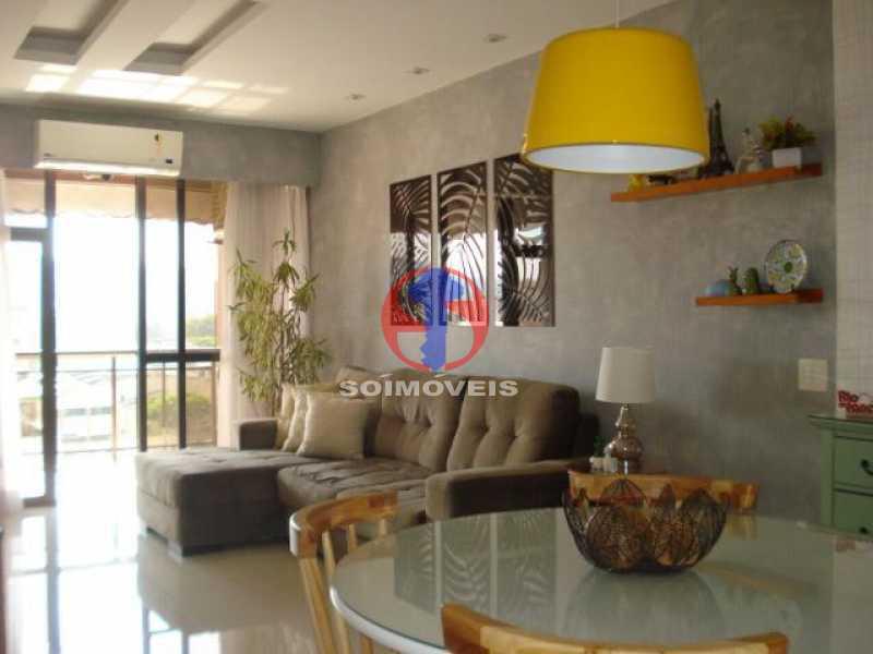 sala - Apartamento 2 quartos à venda Maracanã, Rio de Janeiro - R$ 795.000 - TJAP21438 - 3