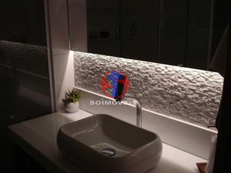 lavabo - Apartamento 2 quartos à venda Maracanã, Rio de Janeiro - R$ 795.000 - TJAP21438 - 10