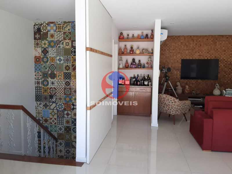 SALA TV - Cobertura 4 quartos à venda Tijuca, Rio de Janeiro - R$ 2.150.000 - TJCO40018 - 17