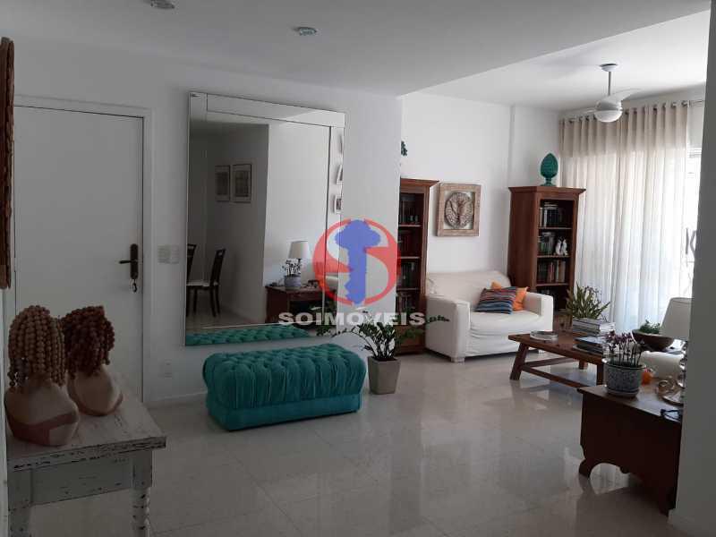 SALA - Cobertura 4 quartos à venda Tijuca, Rio de Janeiro - R$ 2.150.000 - TJCO40018 - 3