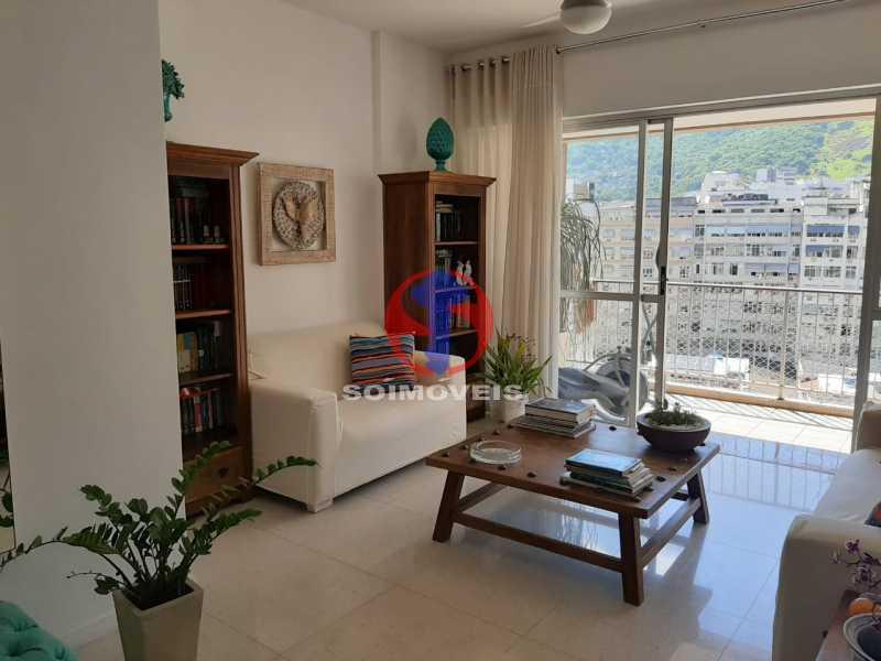 SALA - Cobertura 4 quartos à venda Tijuca, Rio de Janeiro - R$ 2.150.000 - TJCO40018 - 1