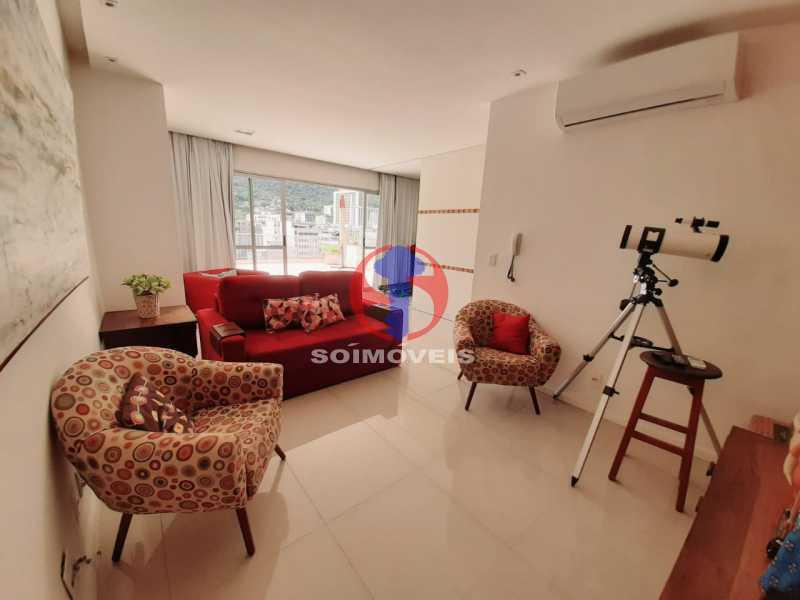 SALA TV - Cobertura 4 quartos à venda Tijuca, Rio de Janeiro - R$ 2.150.000 - TJCO40018 - 18