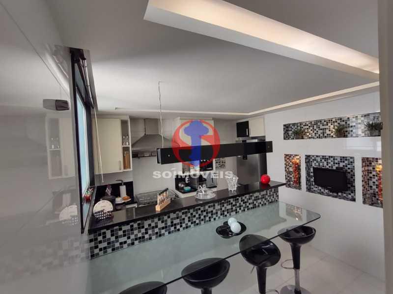 . - Cobertura 3 quartos à venda Tijuca, Rio de Janeiro - R$ 1.200.000 - TJCO30053 - 24