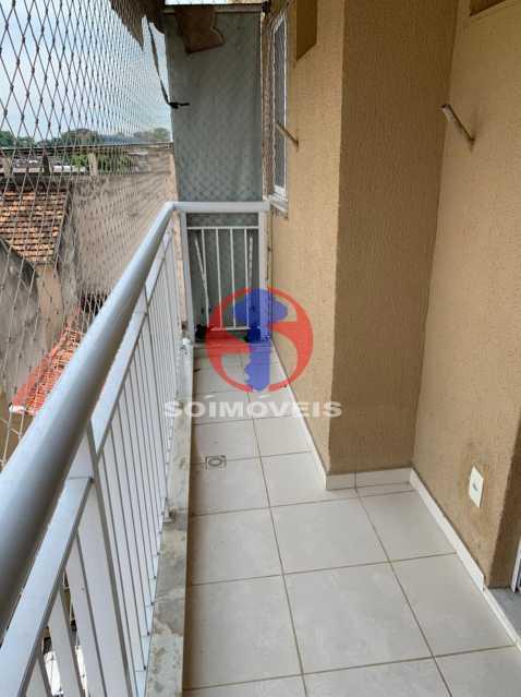 VARANDA - Apartamento 2 quartos à venda Sampaio, Rio de Janeiro - R$ 230.000 - TJAP21440 - 7