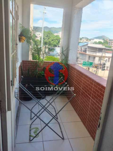 Varanda - Apartamento 2 quartos à venda Lins de Vasconcelos, Rio de Janeiro - R$ 300.000 - TJAP21441 - 16
