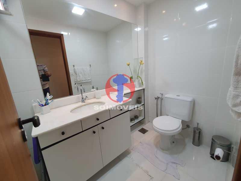 BANHEIRO SOCIAL - Cobertura 3 quartos à venda Engenho Novo, Rio de Janeiro - R$ 330.000 - TJCO30054 - 26