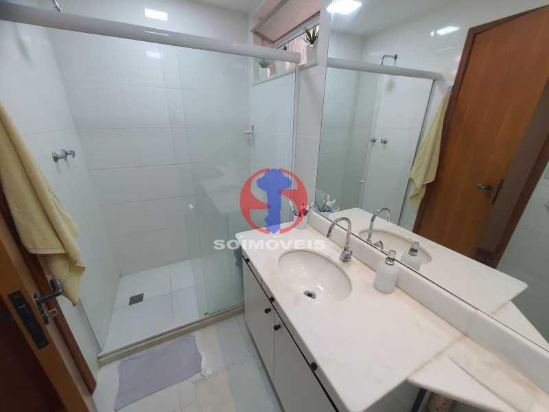 BANHEIRO SOCIAL - Cobertura 3 quartos à venda Engenho Novo, Rio de Janeiro - R$ 330.000 - TJCO30054 - 28