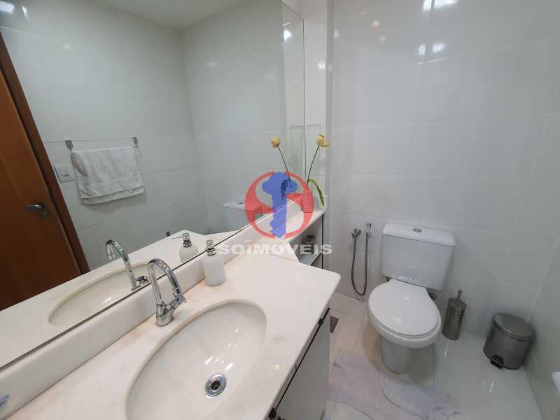 BANHEIRO SOCIAL - Cobertura 3 quartos à venda Engenho Novo, Rio de Janeiro - R$ 330.000 - TJCO30054 - 29