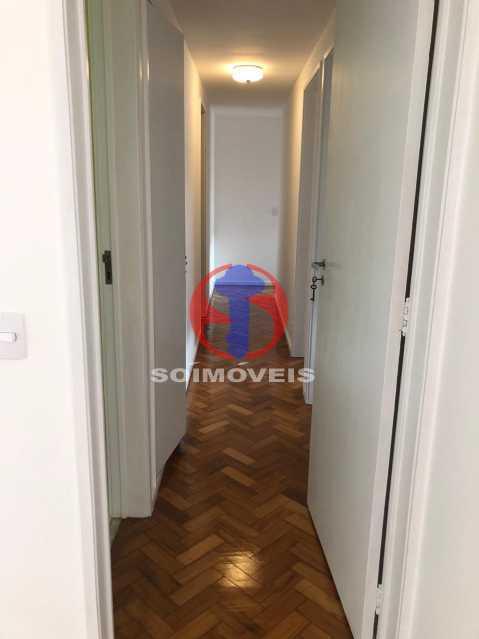 CORREDOR - Apartamento 3 quartos à venda Rio Comprido, Rio de Janeiro - R$ 550.000 - TJAP30698 - 11