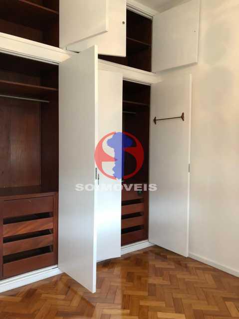 QUARTO - Apartamento 3 quartos à venda Rio Comprido, Rio de Janeiro - R$ 550.000 - TJAP30698 - 9