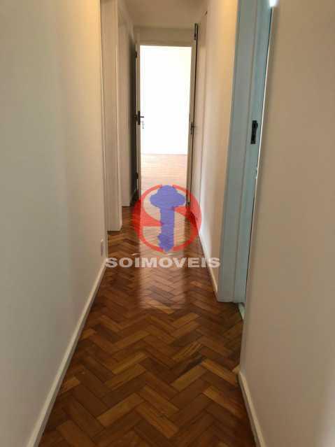 CORREDOR - Apartamento 3 quartos à venda Rio Comprido, Rio de Janeiro - R$ 550.000 - TJAP30698 - 16