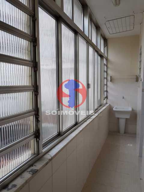 área d serviço - Casa de Vila 2 quartos à venda Maracanã, Rio de Janeiro - R$ 385.000 - TJCV20104 - 1