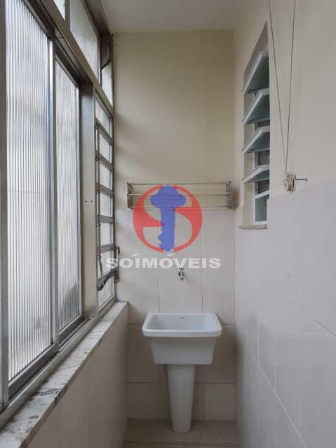 lavanderia  - Casa de Vila 2 quartos à venda Maracanã, Rio de Janeiro - R$ 385.000 - TJCV20104 - 4