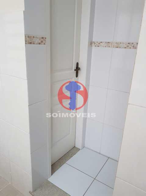 banheiro serviço - Casa de Vila 2 quartos à venda Maracanã, Rio de Janeiro - R$ 385.000 - TJCV20104 - 5
