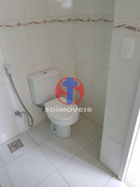 banheiro - Casa de Vila 2 quartos à venda Maracanã, Rio de Janeiro - R$ 385.000 - TJCV20104 - 7
