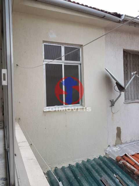 vista serviço - Casa de Vila 2 quartos à venda Maracanã, Rio de Janeiro - R$ 385.000 - TJCV20104 - 12