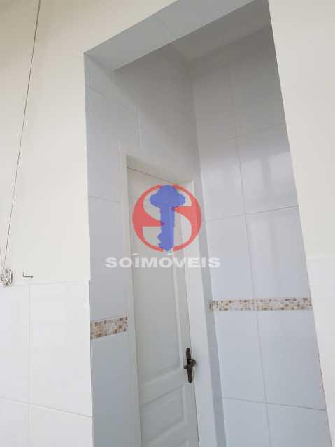 banheiro serviço - Casa de Vila 2 quartos à venda Maracanã, Rio de Janeiro - R$ 385.000 - TJCV20104 - 13